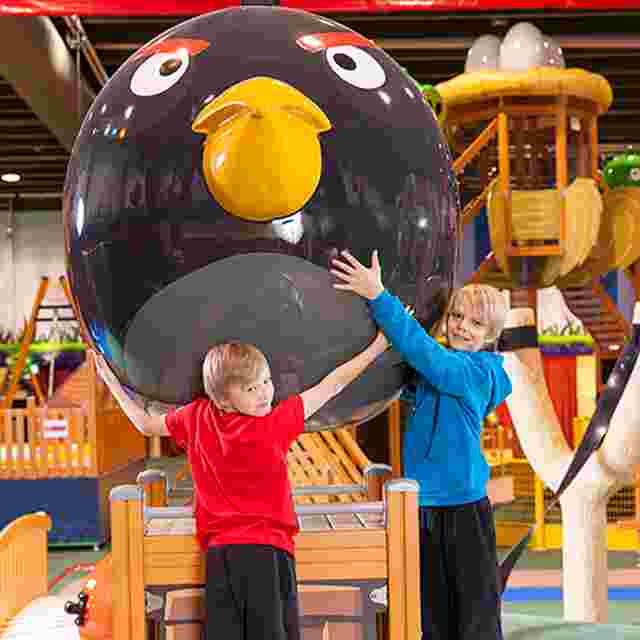 Angry Birds Activity Park tuo riemua syyslomaan
